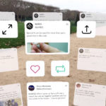 Twitter als Augmented-Reality App