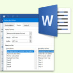 DIN-Formate in Word einstellen